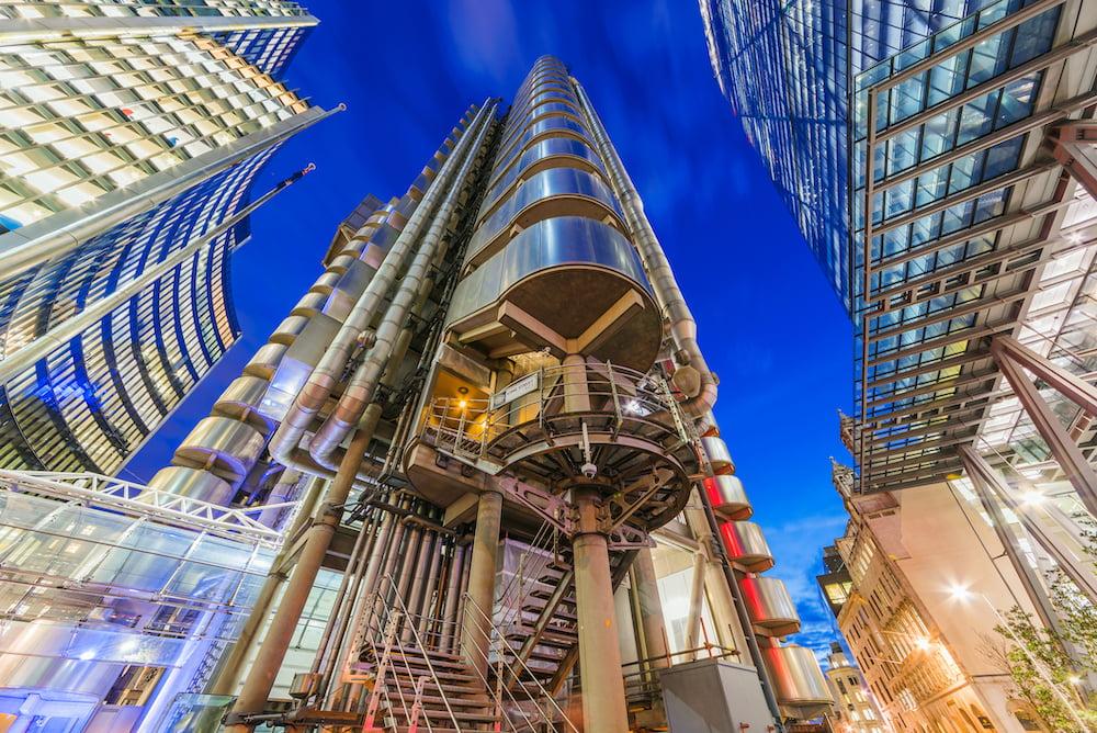 Lloyds building by night sml